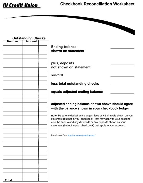 checkbook register template