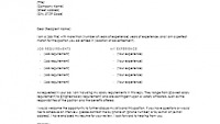 Cover Letter Template with Salary Requirements