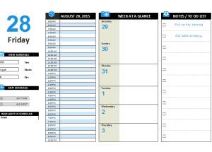 Daily planner maker printable documents for Daily planner maker