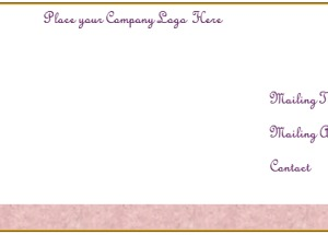 Create Your Own Free Envelope Template in Microsoft® Word
