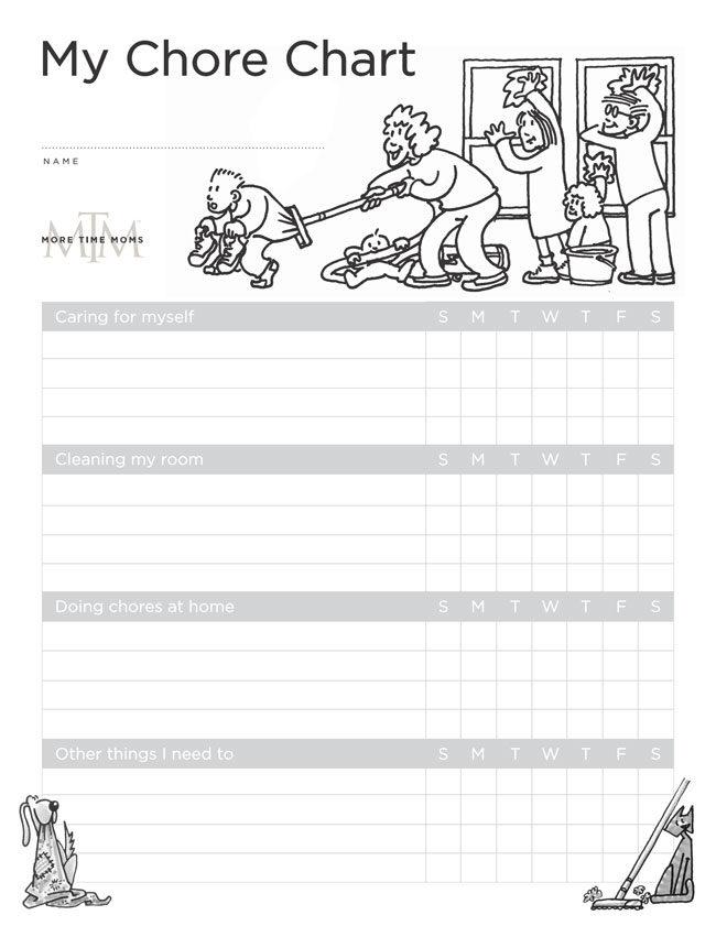 Kids Chore Chart 5