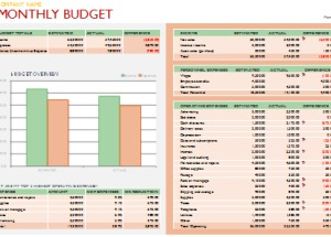 Budget Templates – Printable Documents
