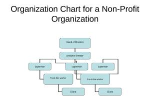 Non profit board of directors organizational chart printable documents non profit organizational chart 5 best samples maxwellsz