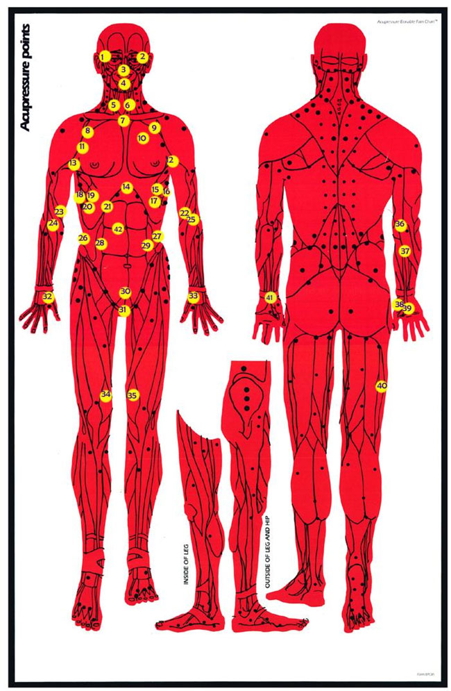 Printable Acupressure Charts in PDF