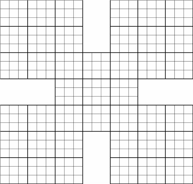 Printable Sudoku Grids - Have Fun Anytime