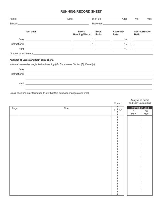 Free Activity Log Templates  Printable Documents