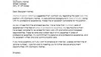 Sample Resume Cover Letter when Referred