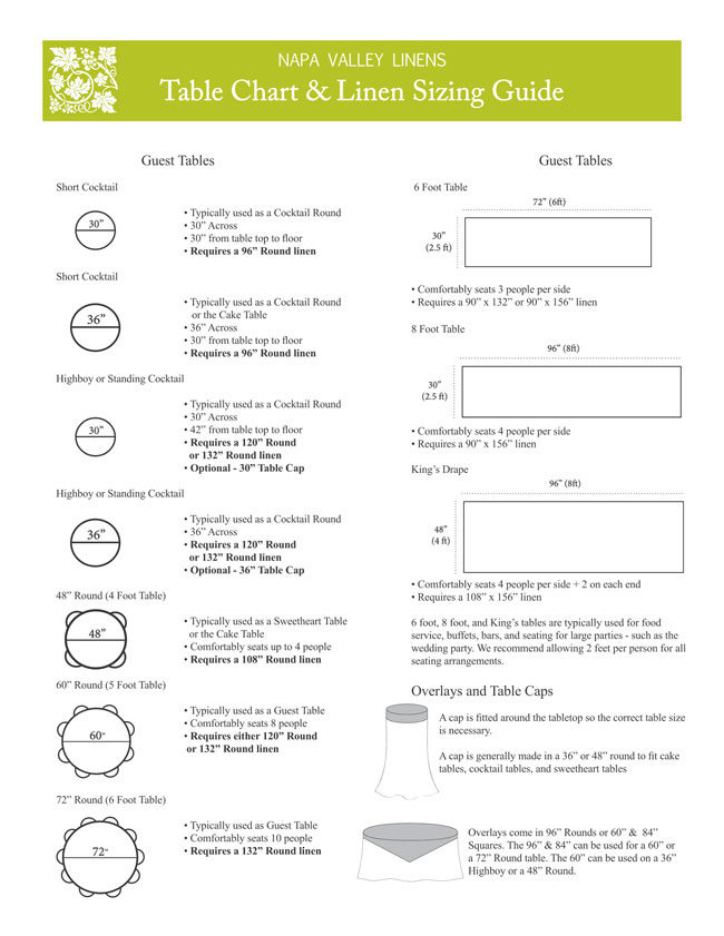 Table Seating Chart 2