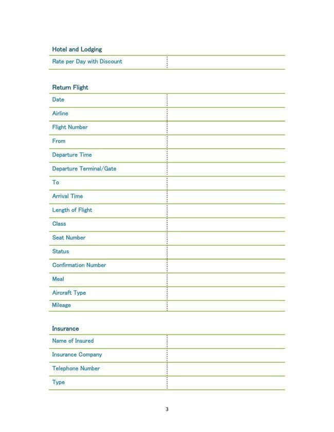 Travel-Itinerary-Example