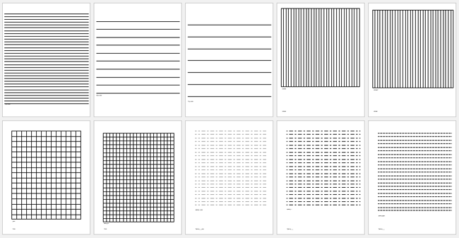 Printable College Ruled Papers – Vertical Lined Paper