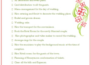 Wedding Planning Checklist to Keep Things on Track