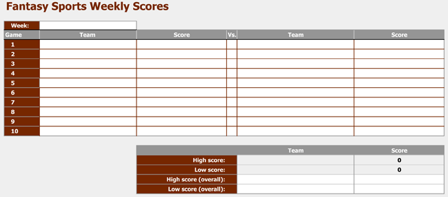 free download basketball score sheets