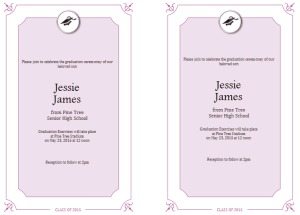 Graduation Invitation Templates – It's Time to Celebrate
