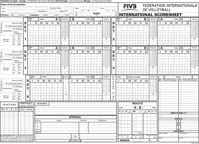 print free volleyball score sheets