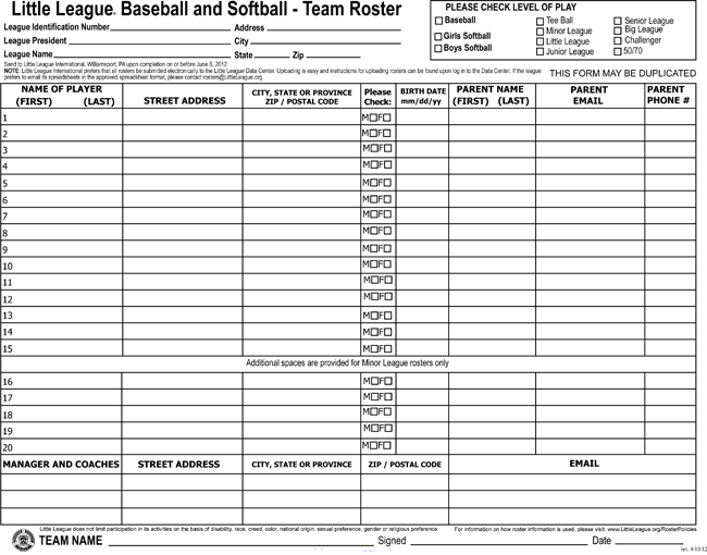 printable softball score sheets